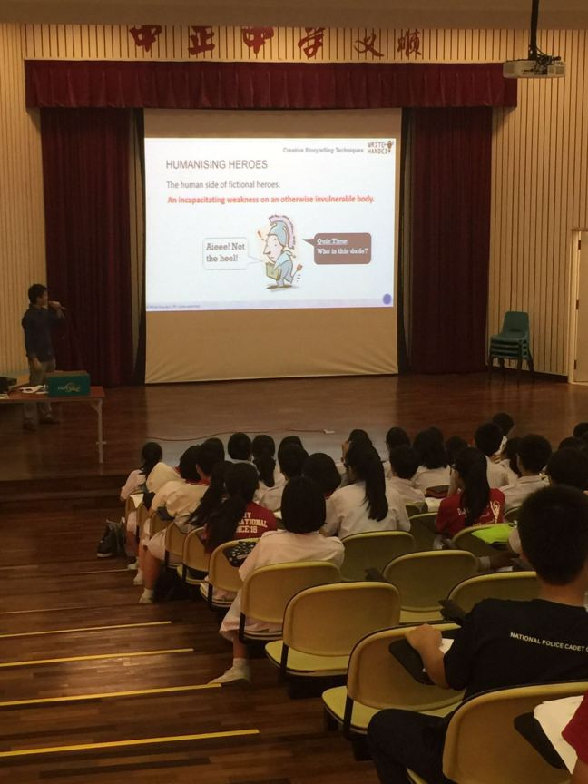 Creative Storytelling Techniques. Credit: Chung Cheng High School (Yishun)