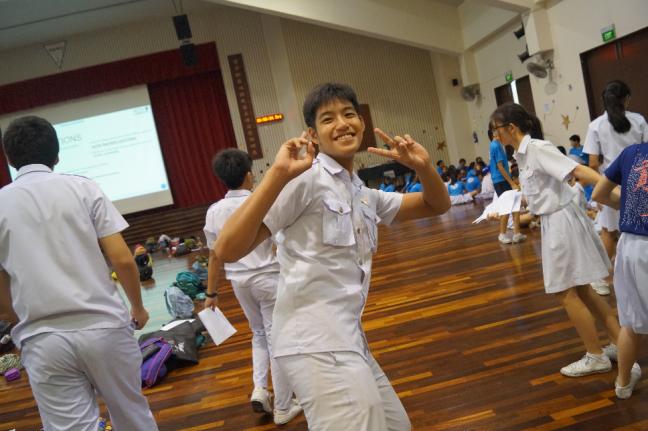 Young Journalists. Credit: Chung Cheng High School (Yishun)